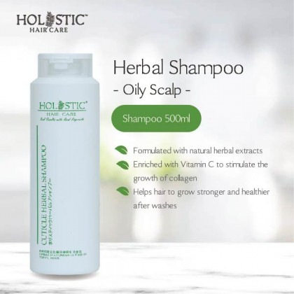 Herbal Shampoo 500ml (Oily Scalp)